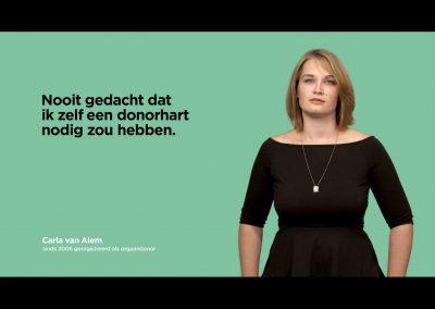 Online campagne Orgaandonatie