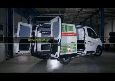 Bedrijfsfilm Flexmo Bedrijfswageninrichting